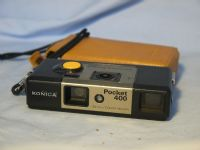 '  KONICA ' Konica Pocket 400 Cased Vintage Camera -RARE- £9.99